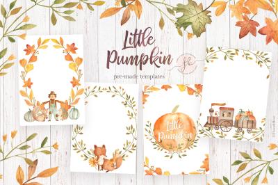 Little Pumpkin - Pre-Made Templates