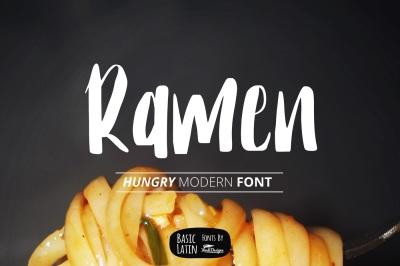 Ramen Font