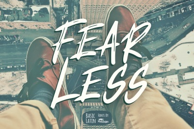 Fear Less Font