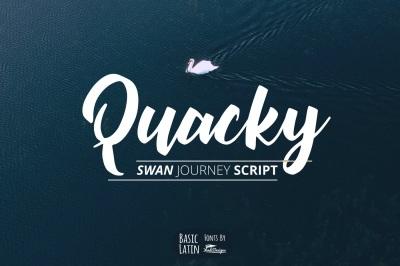 Quacky Font