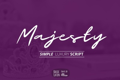 Majesty Luxury Font