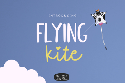 Flying Kite Font