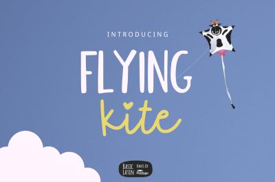 Flying Kite Font