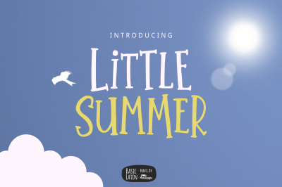 Little Summer Cute Font