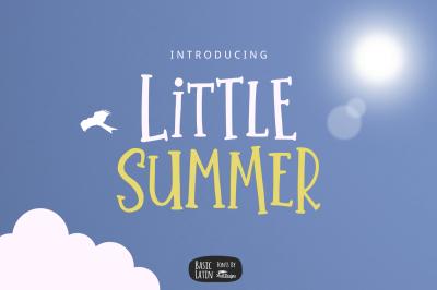 Little Summer Cute Font