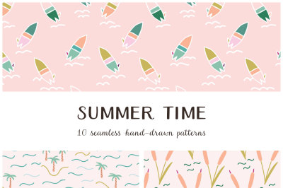Summer Time Vector Patterns