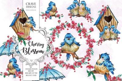 Cherry Blossom Clip Art