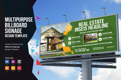 Multipurpose Billboard Signage v3