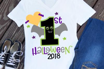 Halloween svg, first halloween svg, 1st halloween svg, halloween shirt