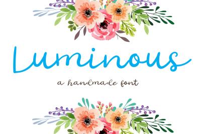 Luminous Script Font