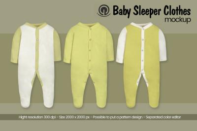 Baby Sleeper Mockup