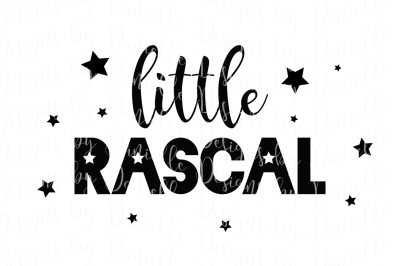 Little Rascal SVG Cutting File