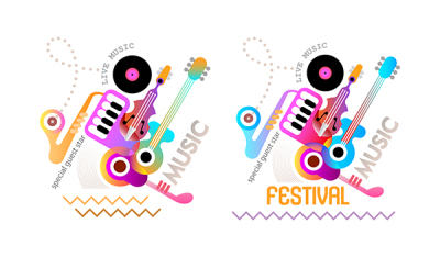 Music Festival Poster Designs