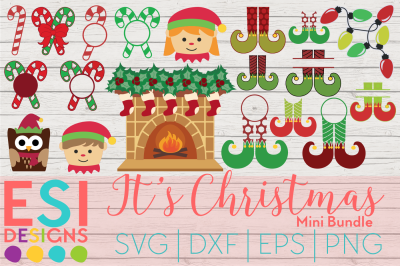 It's Christmas Mini Bundle | SVG, DXF, EPS, PNG