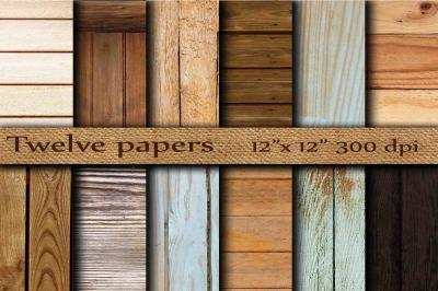 Wood digital papers