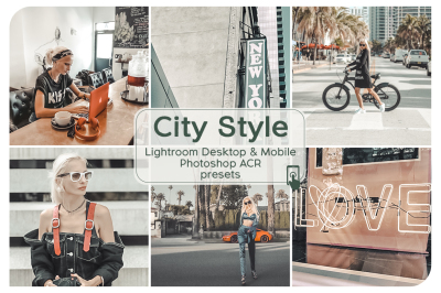 City Style Lightroom Presets