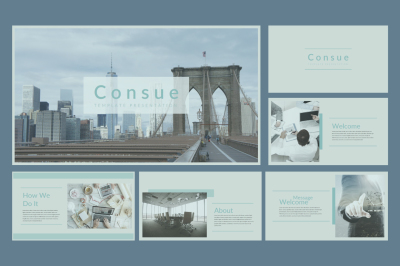 Consue Powerpoint Template