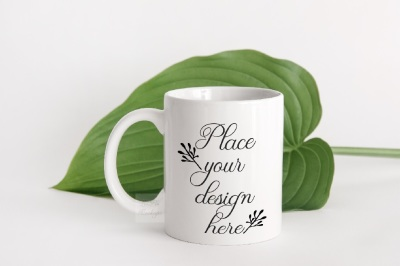 Modern Coffee mug mockup white cup mock up psd smart modern mockups