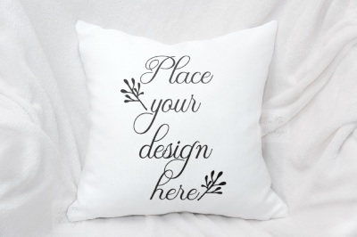 Pillow mockup square psd pillows mock up sublimation