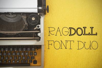RagDoll - Font Duo