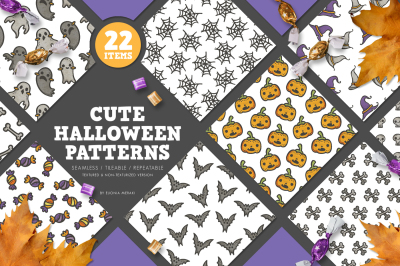 Cute Halloween Patterns