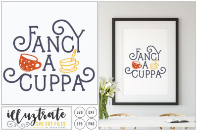 Fancy a cuppa svg cut file