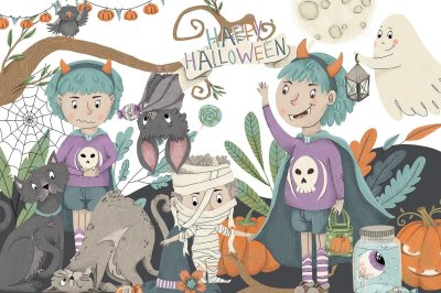 Happy Halloween Illustrations