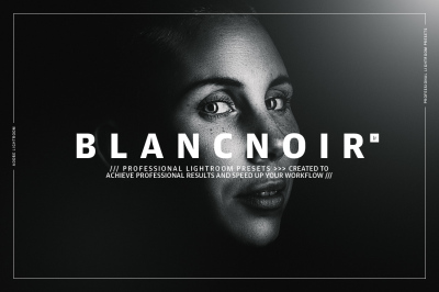 Blancnoir Lightroom Presets