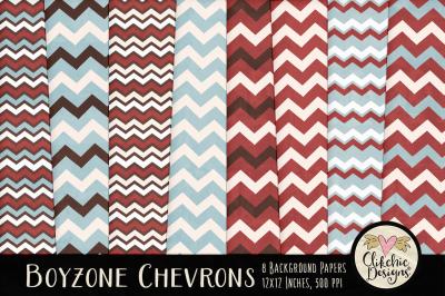 Boyzone Chevron Texture Paper Pack