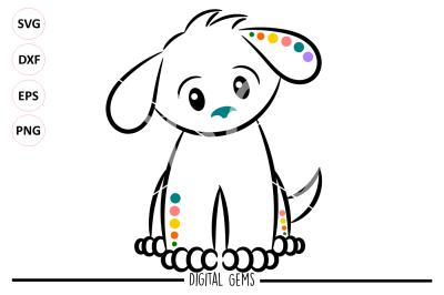 Dog SVG / DXF / EPS / PNG Files