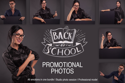 Back to School promotional photos bundle