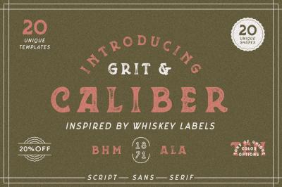 Grit & Caliber - Vintage Bundle