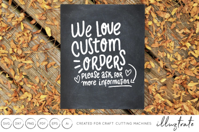 Craft Show SVG, craft show sign, svg cut file, we love custom orders