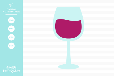 Wine Glass SVG DXF