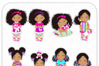 Unicorn Pajamas, African American Girls