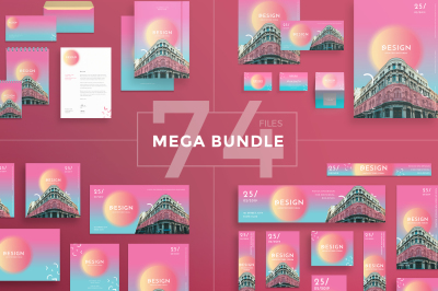 Design templates bundle | flyer, banner, branding | Design Architecture Forum