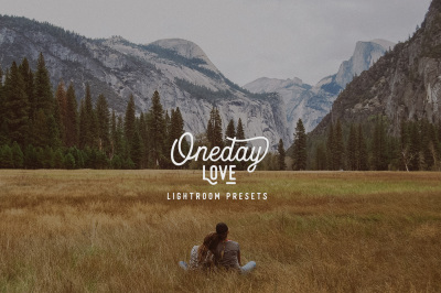 Oneday : Love lightroom presets