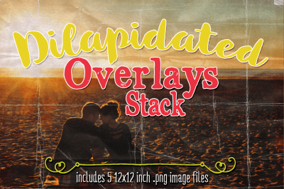 Diliapidated Overlays Stack Textures
