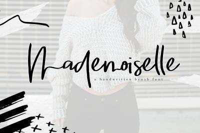 Mademoiselle - Chic Brush Font