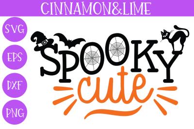 Spooky Cute Kids Halloween SVG