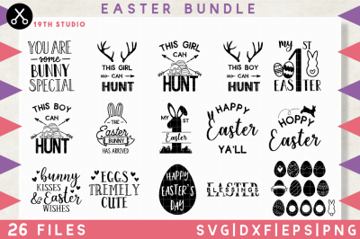 Easter SVG Bundle | M9