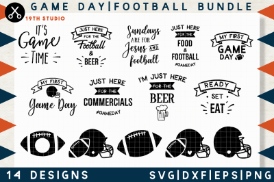 Football SVG bundle | M11
