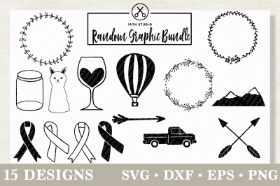 Random graphics SVG Bundle | M12