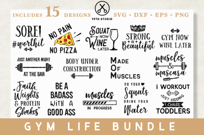 Gym life Bundle | M13