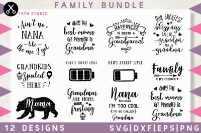 Family SVG Bundle | M15