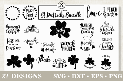 St. Patrick's day SVG Bundle | M18