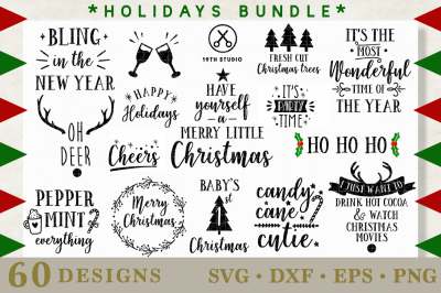 Holidays SVG Bundle | M21