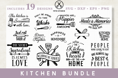 Kitchen SVG Bundle | M22