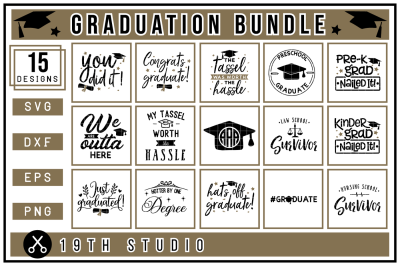 Graduation SVG Bundle | M24