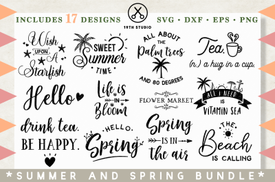 Spring and Summer Bundle | M26